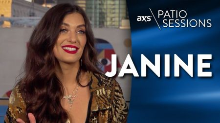 AXS Patio Sessions: Janine talks breaking into the music industry and how she wants to create more