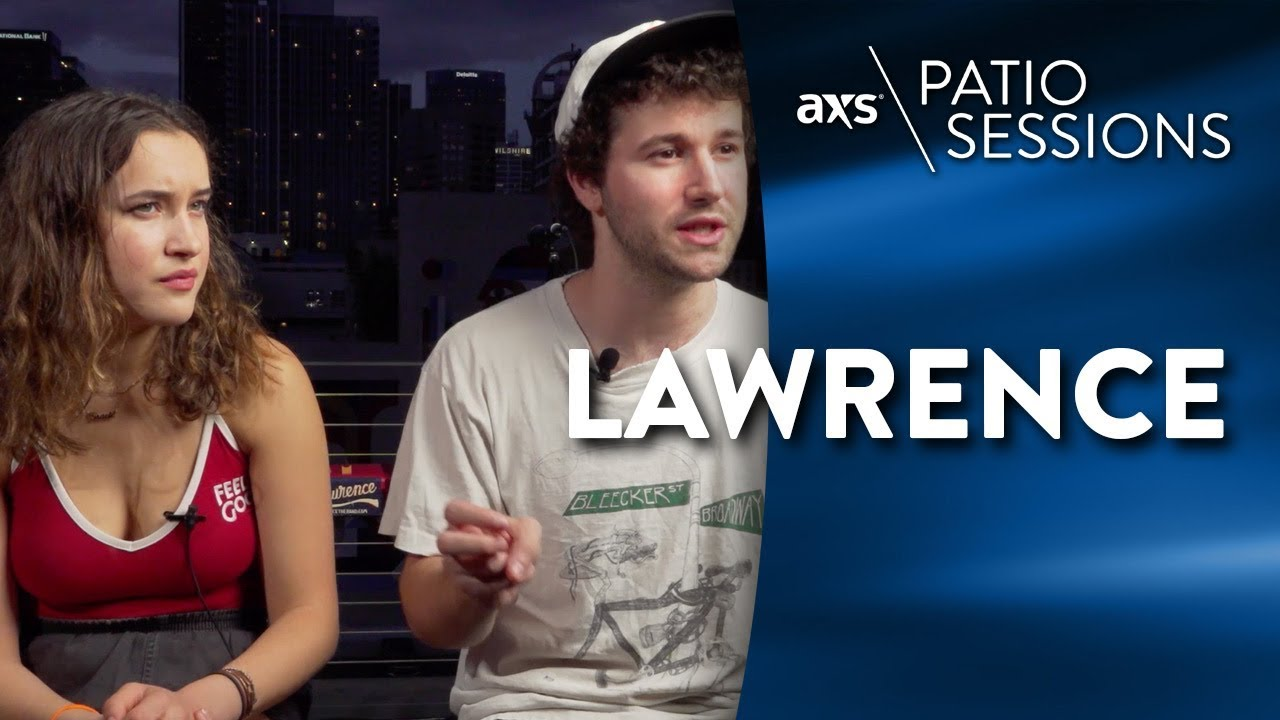 AXS Patio Sessions: Lawrence talk their inspirations, second album and more