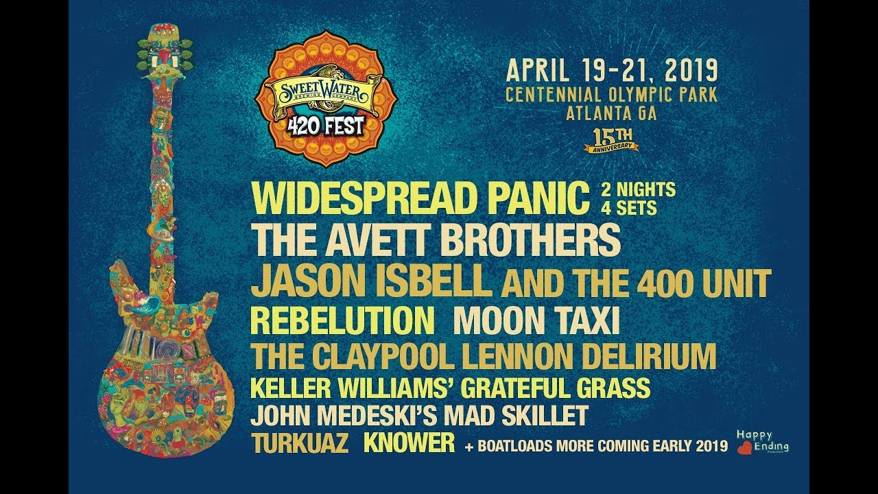 Sweetwater 420 Fest announces first batch of 2019 performers