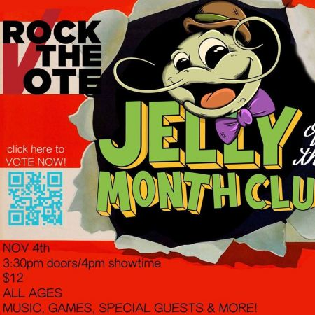 On Sunday, Nov. 4, 2018, Jelly of the Month Club will host an all-ages show at the Gaslamp in Long Beach, California, encouraging everyone t