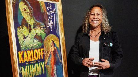 Watch: Metallica's Kirk Hammett talks influence of horror genre on early days