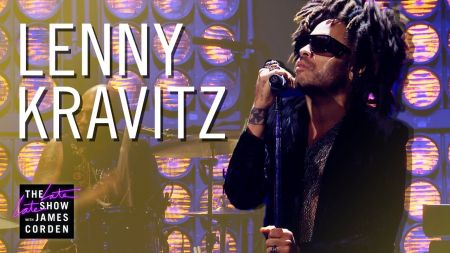 Watch: Lenny Kravitz performs soulful 'Low' on 'The Late Late Show with James Corden'
