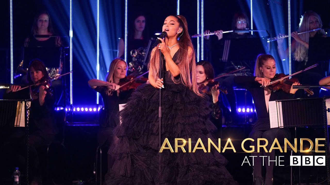Watch: Ariana Grande performs 'God Is a Woman' with an all-female orchestra