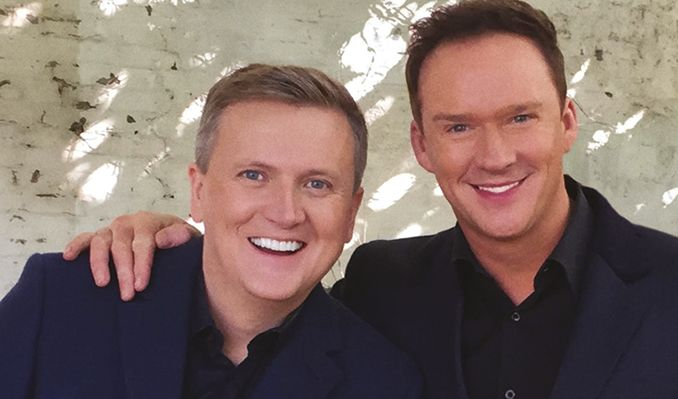 Aled Jones & Russell Watson tickets at St David's Hall, Cardiff