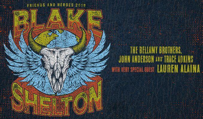 Blake Shelton tickets at Amalie Arena, Tampa