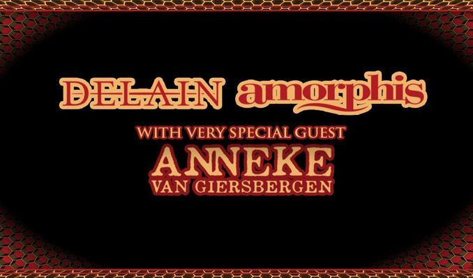 Delain / Amorphis tickets at Slim's in San Francisco