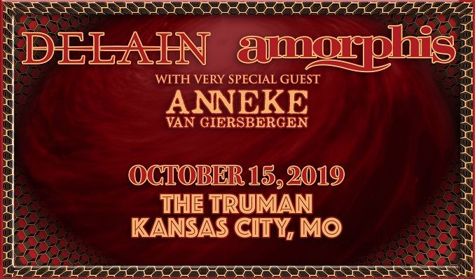 Delain and Amorphis tickets at The Truman in Kansas City