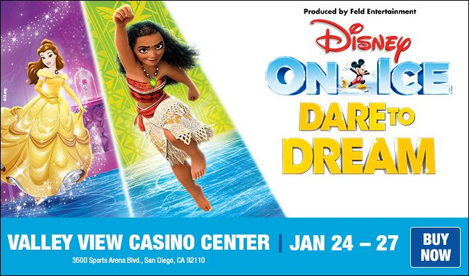Disney On Ice: Dare To Dream tickets at Pechanga Arena San Diego in San Diego