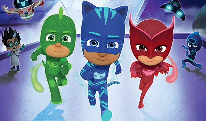 pj masks live tickets in bakersfield at rabobank theater on tue
