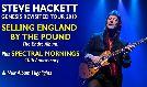 Steve Hackett tickets at Eventim Apollo in London