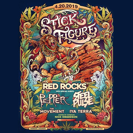 Stick Figure Red Rocks Entertainment Concerts