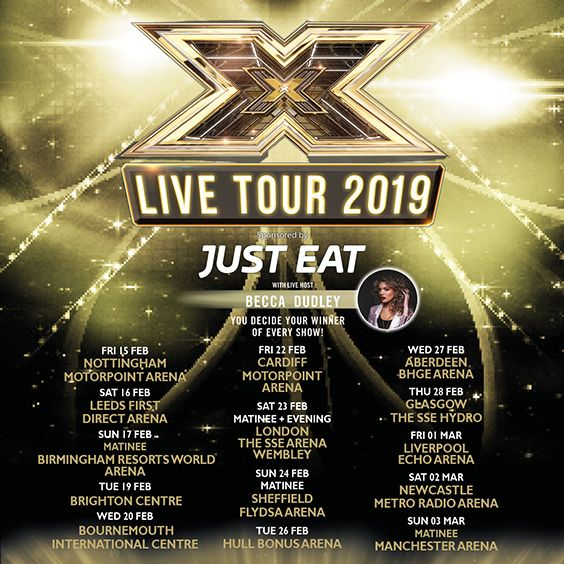 Live x factor 2019