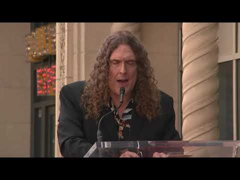 Watch: 'Weird Al' Yankovic gets Hollywood Walk of Fame star