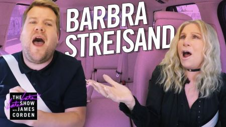Watch: Barbra Streisand makes James Corden nervous during Carpool Karaoke