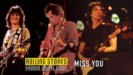 Watch: Rolling Stones debut live video for 'Miss You' from 'Voodoo Lounge Uncut'