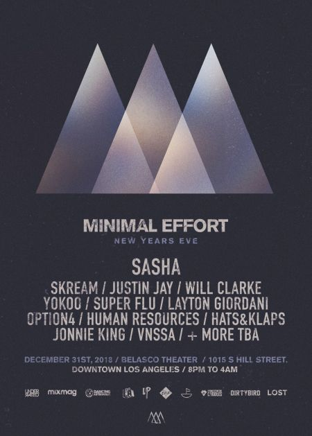 Minimal Effort saves the best for last with New Year's Eve bash in LA