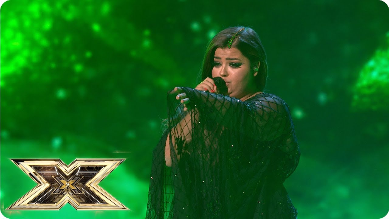 Watch: 'The X Factor UK': Scarlett Lee casts her spell on 'Fright Night'