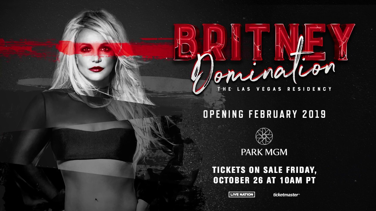 Britney Spears announces new Las Vegas residency 'Domination' at Park Theater