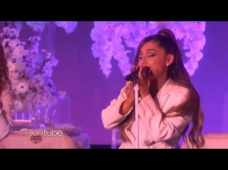 Watch: Ariana Grande performs 'thank u, next' on 'Ellen'