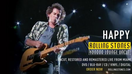 Watch: Rolling Stones debut performance of 'Happy' from 'Voodoo Lounge Uncut'