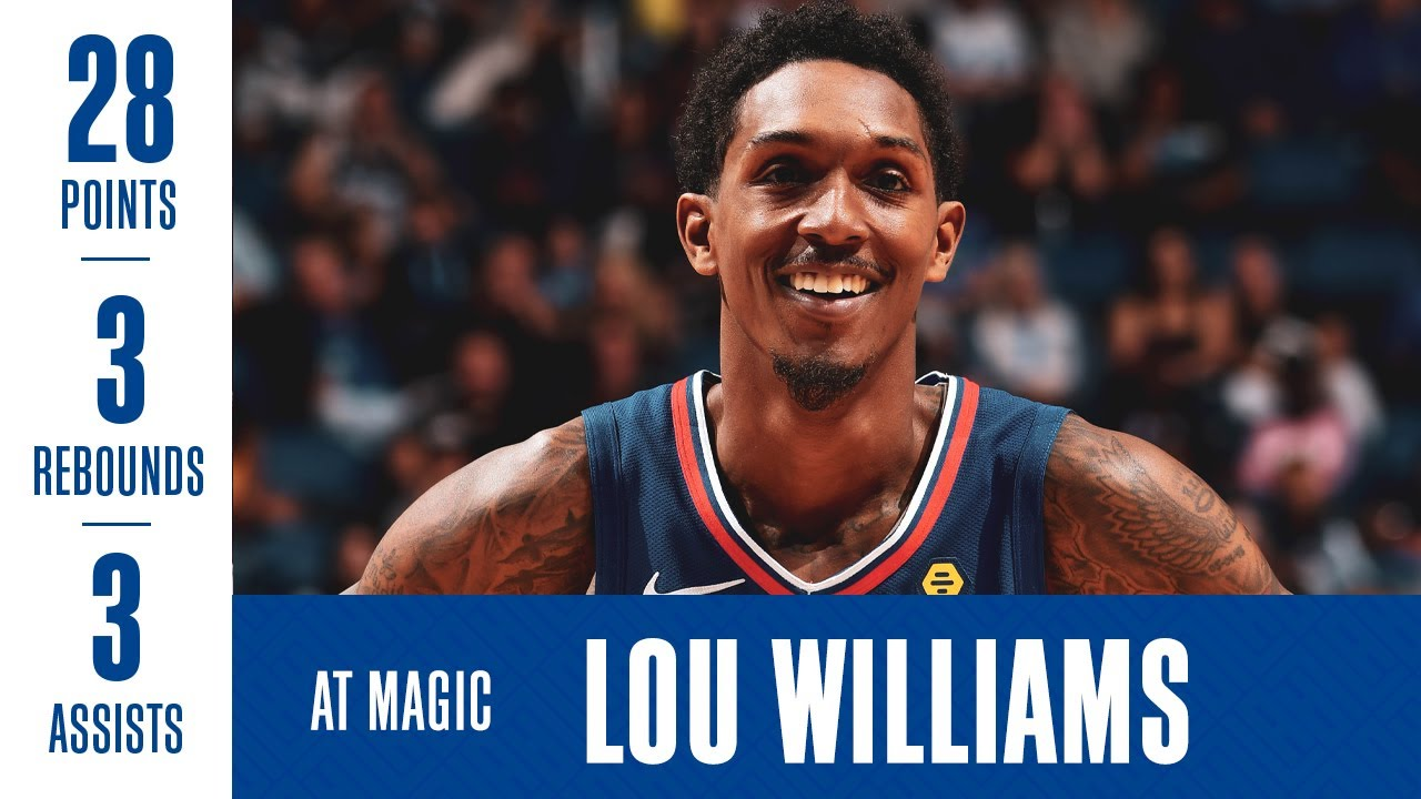 LA Clipper's Lou Williams becomes third player to score 10,000 bench points in NBA history