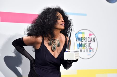 Diana Ross at the 2017 American Music Awards (Nov. 19, 2017)