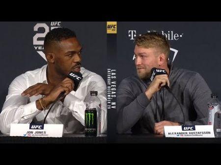 Alexander Gustafsson vs. Jon Jones set for UFC 232 in Las Vegas