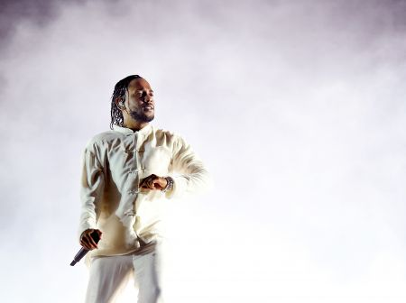 Kendrick Lamar Performing at Coachella Valley Music And Arts Festival (April 23, 2017)