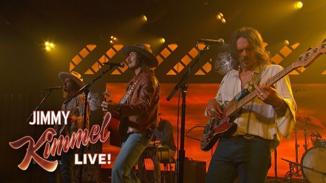 Watch: Midland performs latest single 'Burn Out' on 'Jimmy Kimmel'
