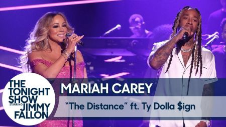 Watch: Mariah Carey performs 'The Distance' with Ty Dolla $ign on 'The Tonight Show'