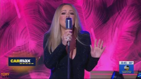 Watch: Mariah Carey performs single 'With You' on 'Good Morning America'