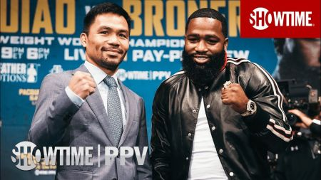 Manny Pacquiao to fight Adrien Broner on Jan. 19 at MGM Grand Garden Arena in Las Vegas