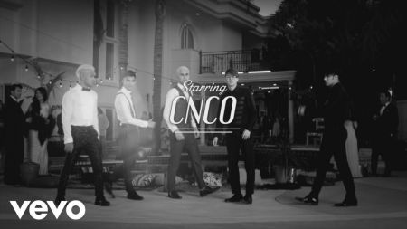 CNCO goes old school with Meghan Trainor & Sean Paul in 'Hey DJ' remix video
