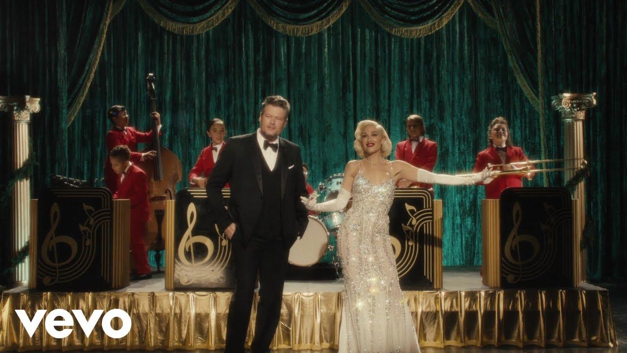 Watch: Gwen Stefani and Blake Shelton drop cute 'You Make It Feel Like Christmas' video