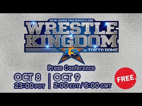 AXS TV to air same-day coverage of New Japan Pro Wrestling's Wrestle Kingdom 13
