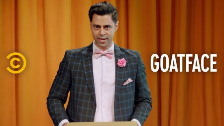 Hasan Minhaj, Fahim Anwar, Asif Ali, and Aristotle Athiras get ready to premiere 'Goatface' on Comedy Central