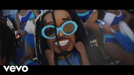 Watch: Spot the 'Space Jam' references in Quavo's new music video for 'How Bout That?'