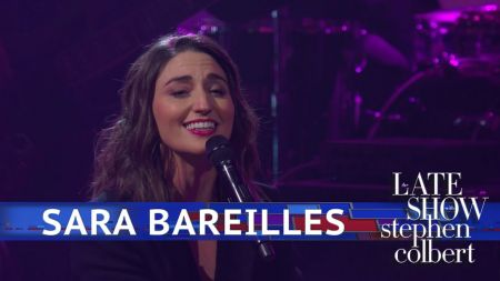 Watch: Sara Bareilles makes TV debut performance of 'Armor' with all-female band