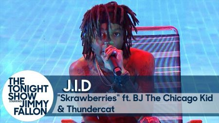 Watch: J.I.D welcomes BJ the Chicago Kid and Thundercat for TV debut on 'Fallon'
