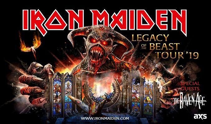Iron Maiden tickets at MGM Grand Garden Arena in Las Vegas