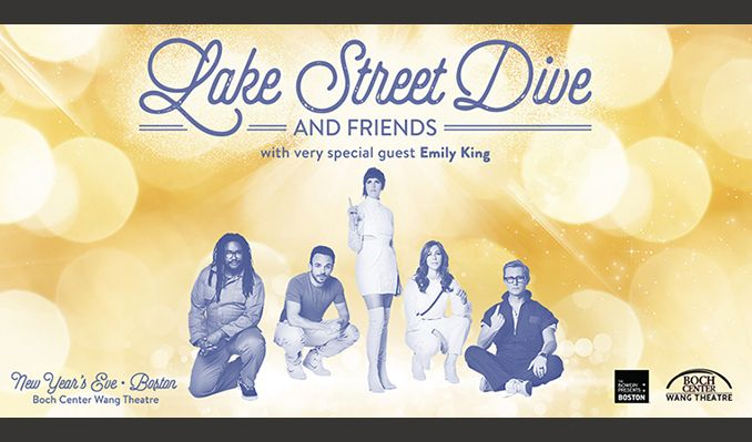 Lake Street Dive (NYE) tickets at Boch Center in Boston