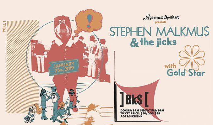 Stephen Malkmus & the Jicks tickets at Brooklyn Steel in Brooklyn