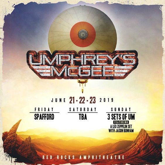 Image for Umphrey's McGee - 3 Day Pass