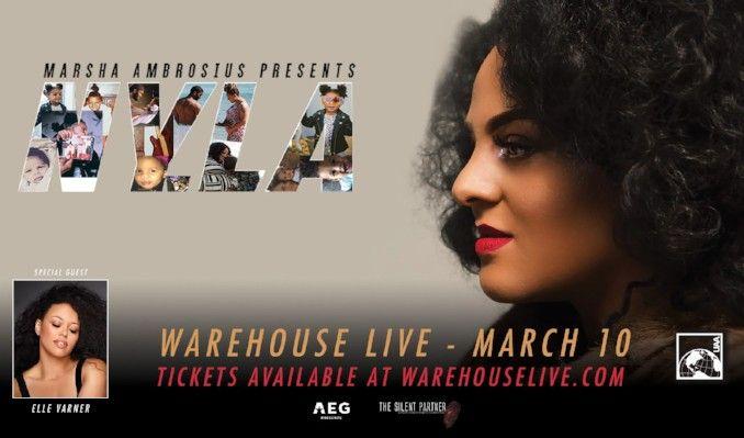 Marsha Ambrosius tickets at Warehouse Live in Houston