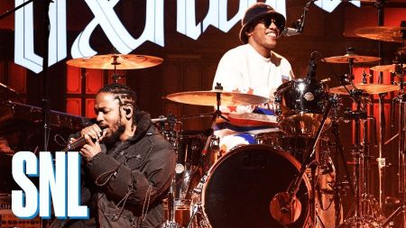 Watch: Anderson .Paak makes 'Saturday Night Live' debut with help from Kendrick Lamar