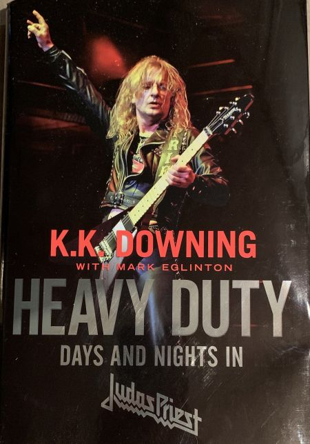 "Interview: Author Mark Eglinton Discusses Working with Ken ""K.K."" Downing on guitartist's Autobiography, 'Heavy Duty: Days and Nights i"