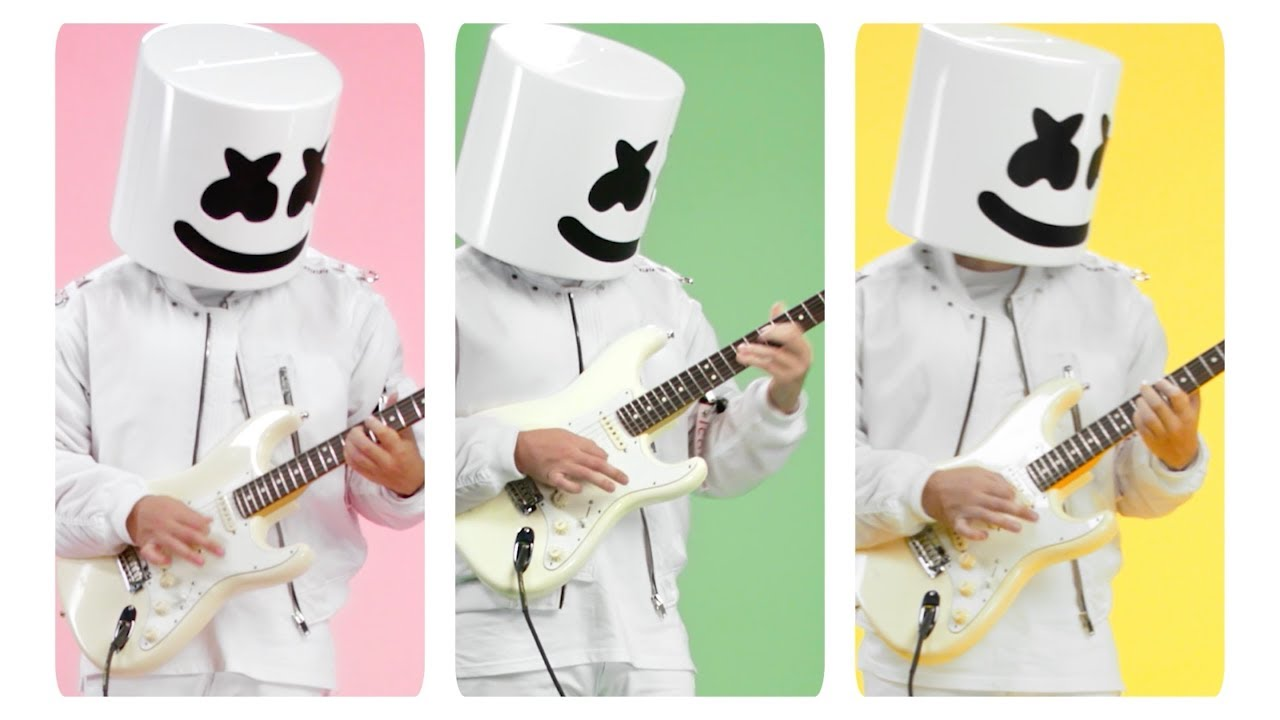 Marshmello and Bastille team up in colorful new alternative video for 'Happier'