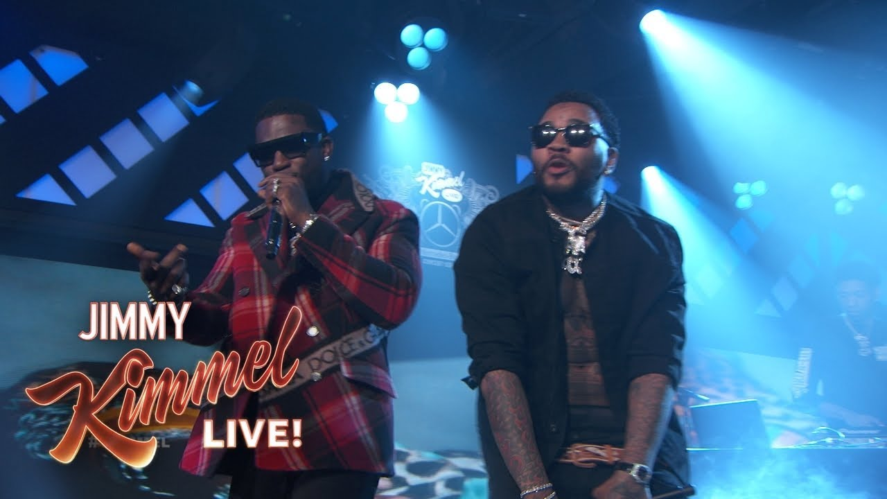 Watch: Gucci Mane brings out Kevin Gates for 'I'm Not Goin' performance on 'Jimmy Kimmel Live!'