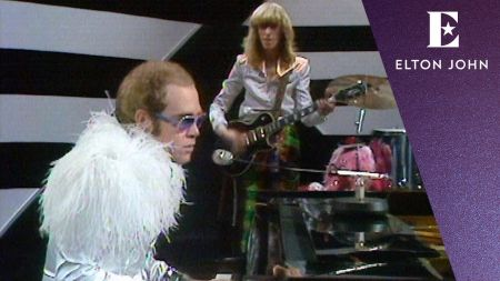 Watch: Elton John unveils video for 'Step into Christmas' from lost 1973 performance