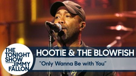 Watch: Hootie & The Blowfish bring back 'Only Wanna Be With You' on 'The Tonight Show'